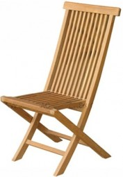 Klappstuhl in Teak | Folding chair in teak